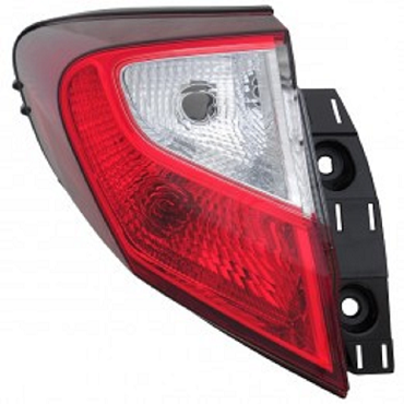 Toyota C-HR 2018 2019 tail light outer Left driver